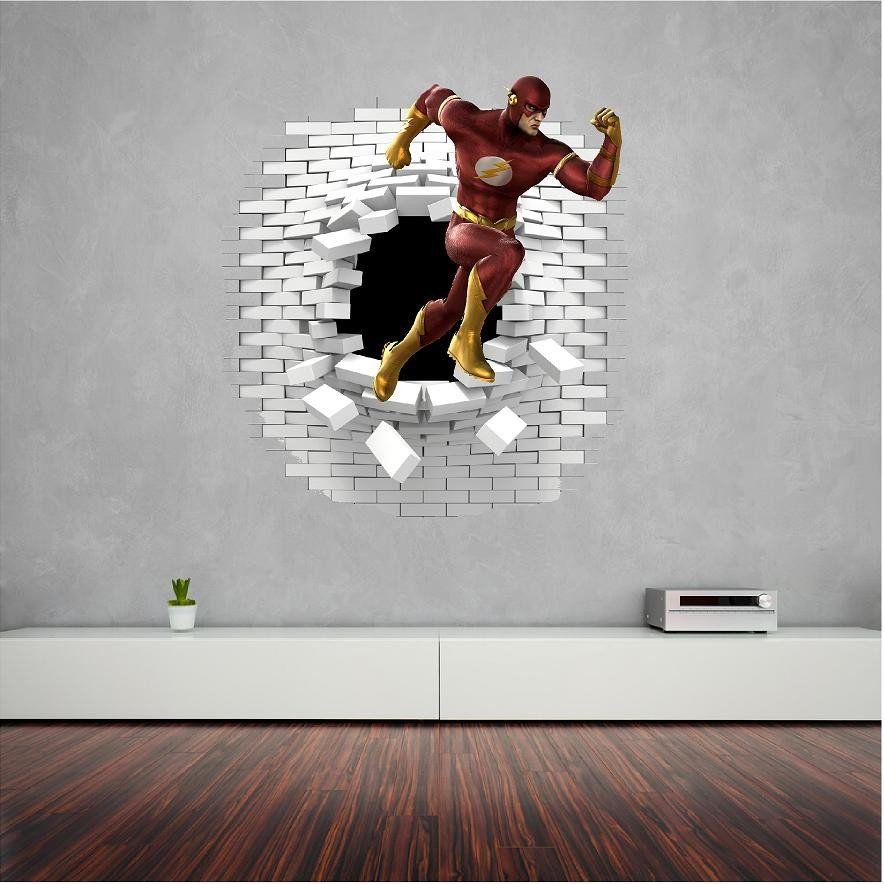 Flash Wall Sticker Decal Wall Sticker Wall Decals Home Decor Decals