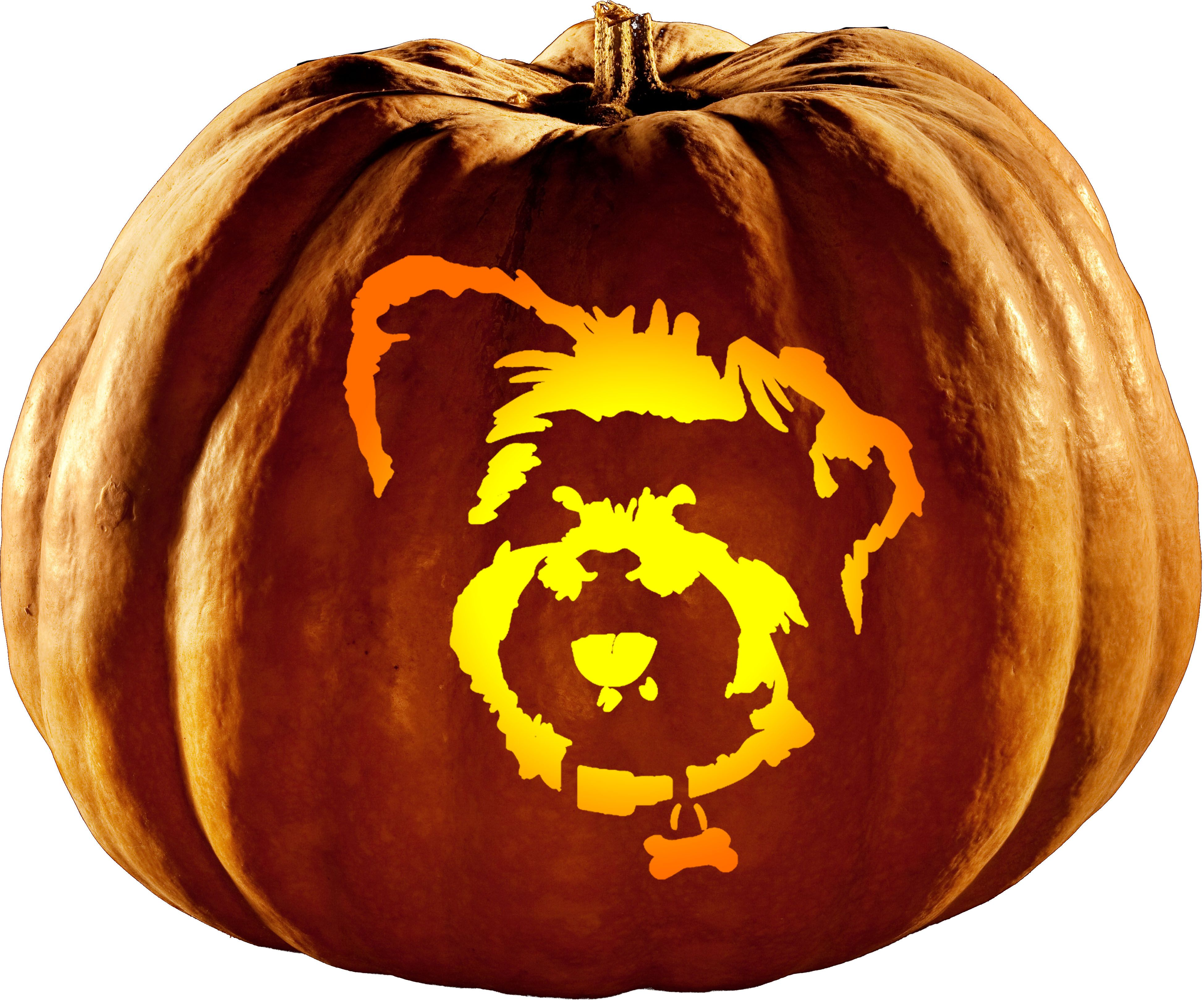 Don't to get your Yorkie Pumpkin Carving Stencils