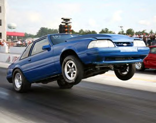 1989 Ford Mustang Coupe 1 4 Mile Drag Racing Ford Mustang Ford