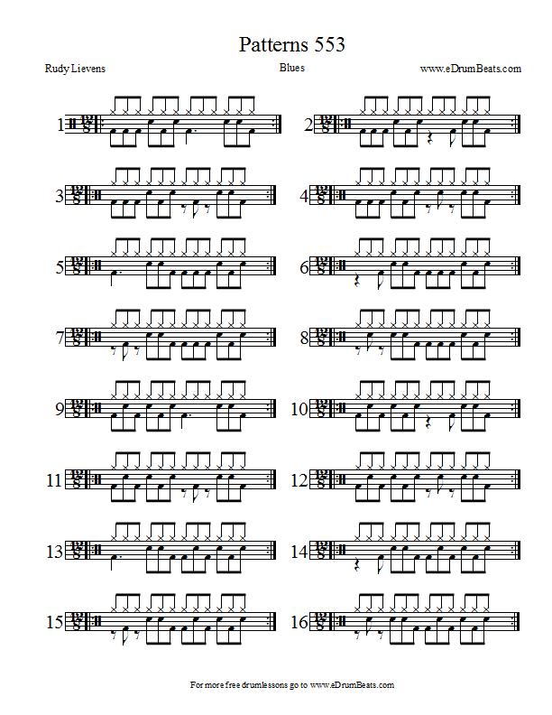 partition batterie blues