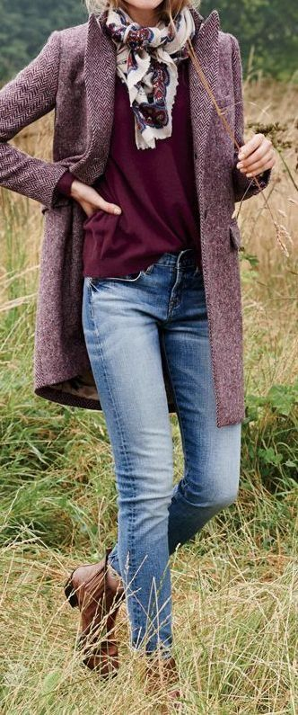 18 Burgundy Outfit Ideas – Fall Luxury Fashion Trend