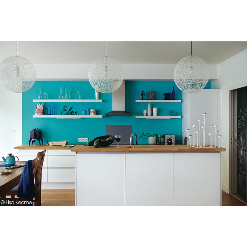 le bleu et le blanc donnent toute la dimension de cette cuisine dccv cuisine kitchen bleu. Black Bedroom Furniture Sets. Home Design Ideas