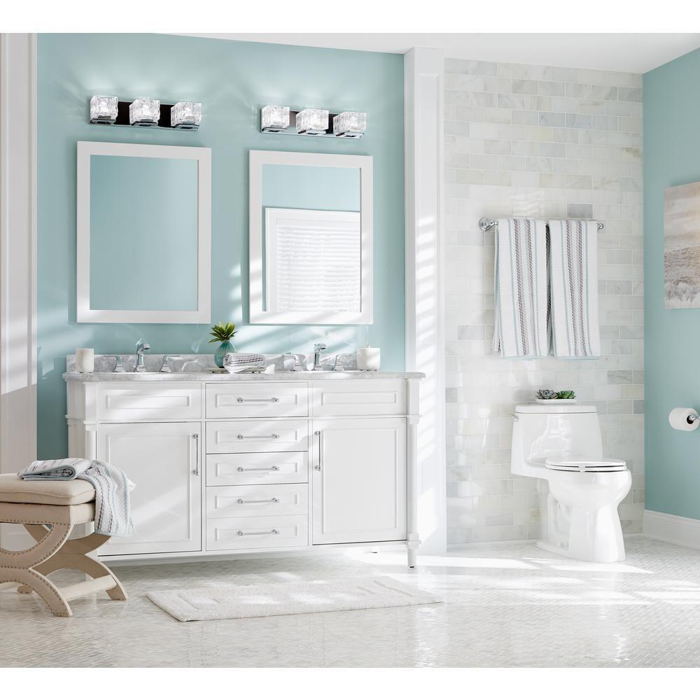 KOHLER Rubicon 8 in. Widespread 2-Handle Bathroom Faucet in Polished ...
