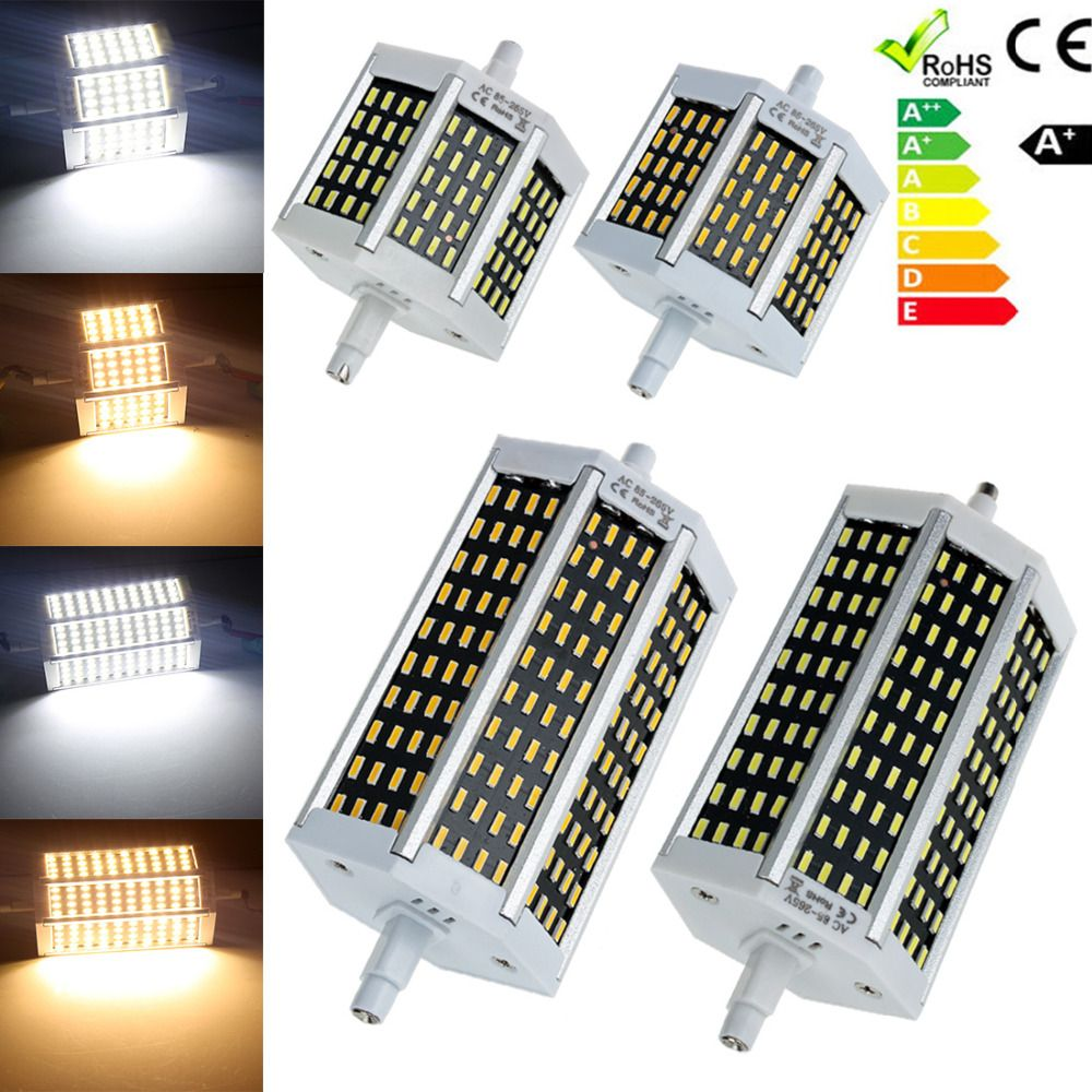 $5.29 (Buy here: http://appdeal.ru/3xer ) R7S 8W/15W J78/J118 4014 SMD LED Flood Light Security Lamp Corn Bulb AC 85-265V Energy Saving Spotlight Light for just $5.29