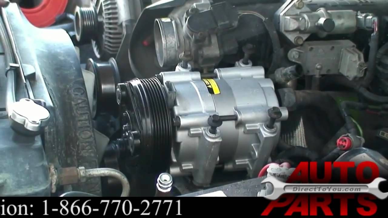car ac compressor repair