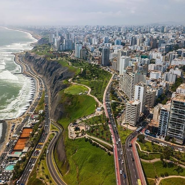 Lima From Above What A Beautiful View Hands Up If You Have Explored Peru S Capital City Th Beautiful Views Around The Worlds Capital City