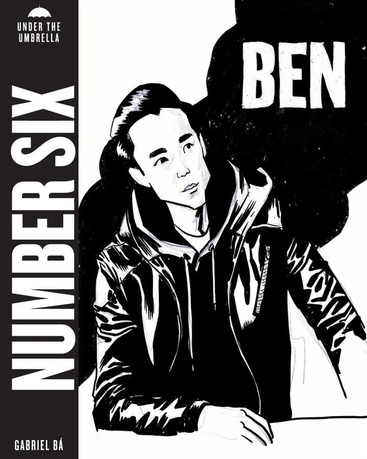 "The Umbrella Academy on Instagram: ""Ben, the friendly ghost. @justinmin | art by @gabriel_ba"""