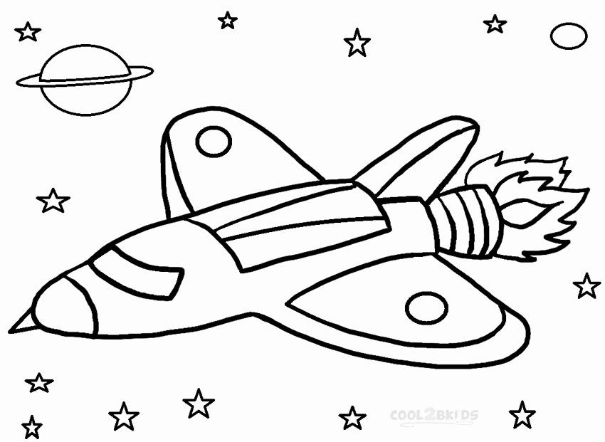 24 Rocket Ship Coloring Page 2020 Space Coloring Pages
