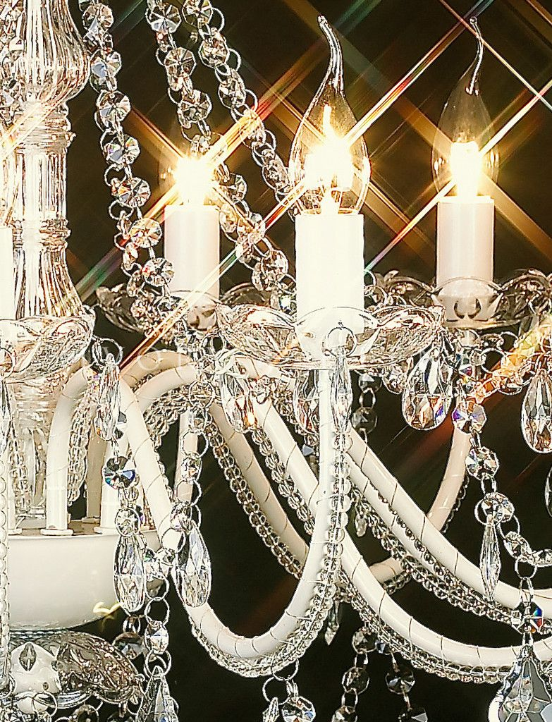 Everyone Love Vintage Styles: Vintage Crystal Chandelier ~ Chandeliers Inspiration