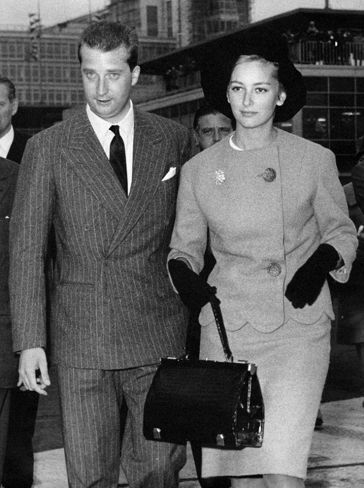 King Albert II and Queen Paola of Belgiums