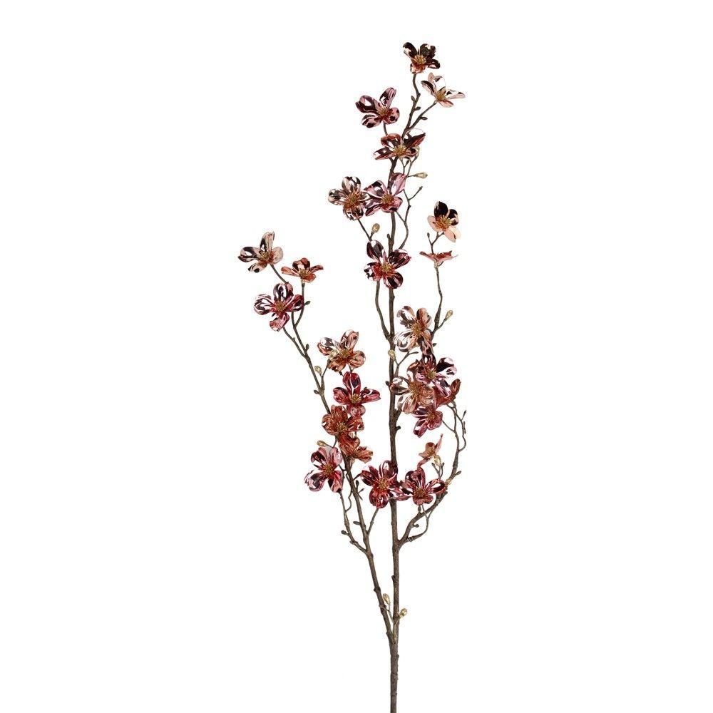 "Allstate Floral 43"" Metallic Pink Artificial Dogwood"