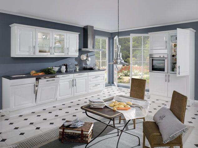 Küche im Landhaus Stil Landhaus Küche Pinterest - nobilia küchenfronten farben
