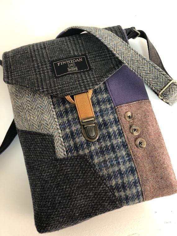 Recycling-Crossbody Geldbeutel recycled Geldbörse iPhone Handtasche Tasche, Recycling Geldbörse Wolle Handtasche Damen Handtasche, Einkaufstasche, bereit zu versenden #purses