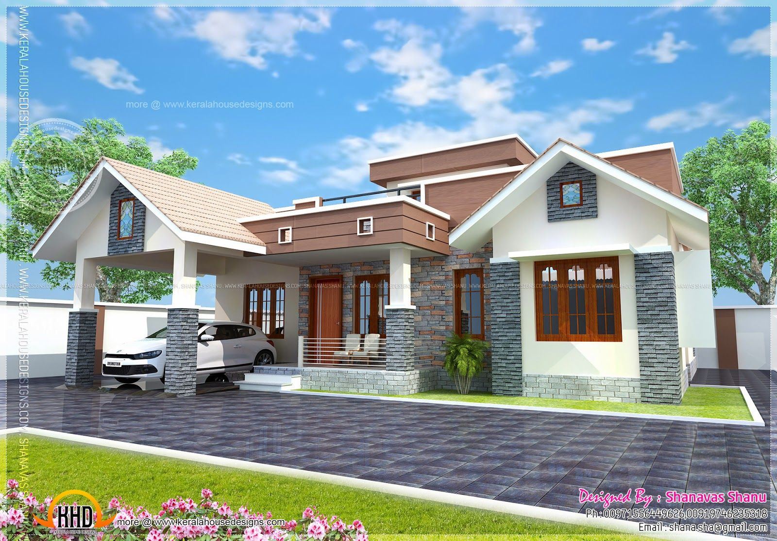 Small House Elevation Design L 1600