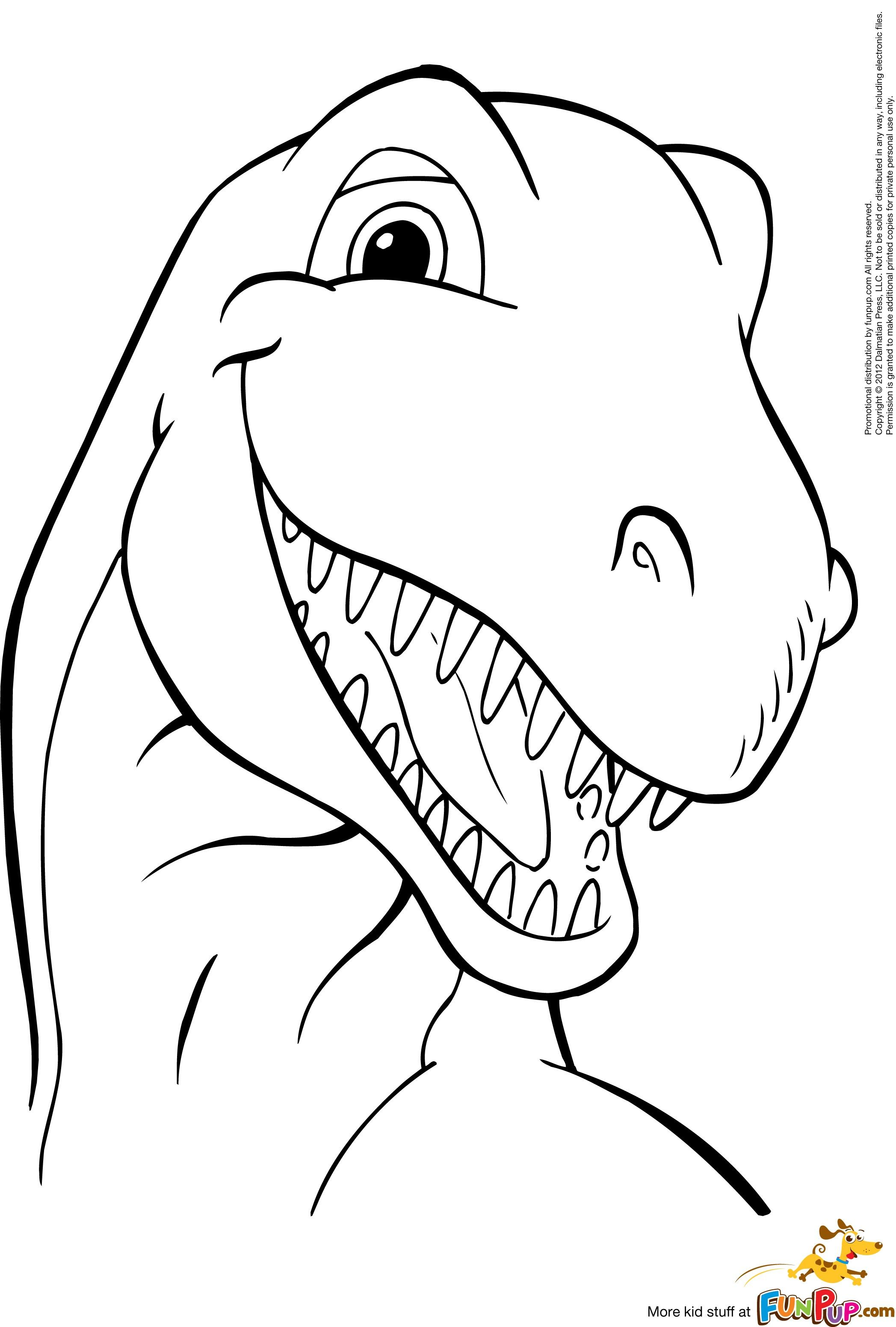 Printable coloring pages dinosaurs - Dinosaur Smiling 0 00 Print Coloring Pagesdinosaur Coloring Pagesfree Printable