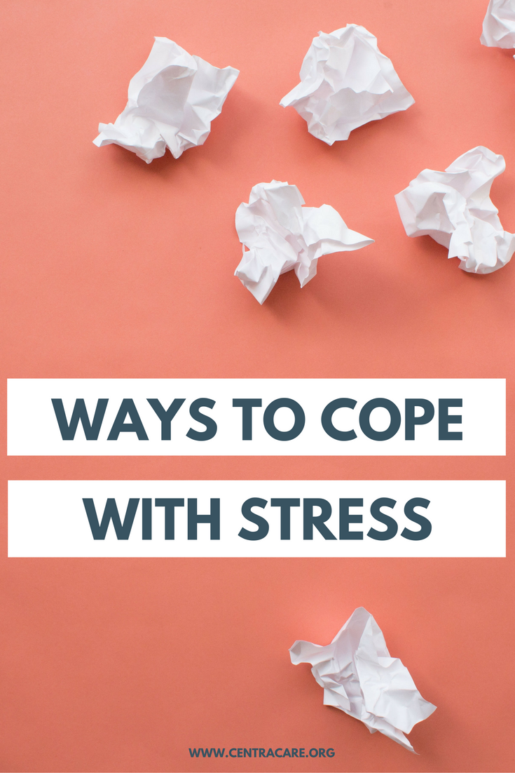 here are some healthy ways to cope with stress put ordeals in