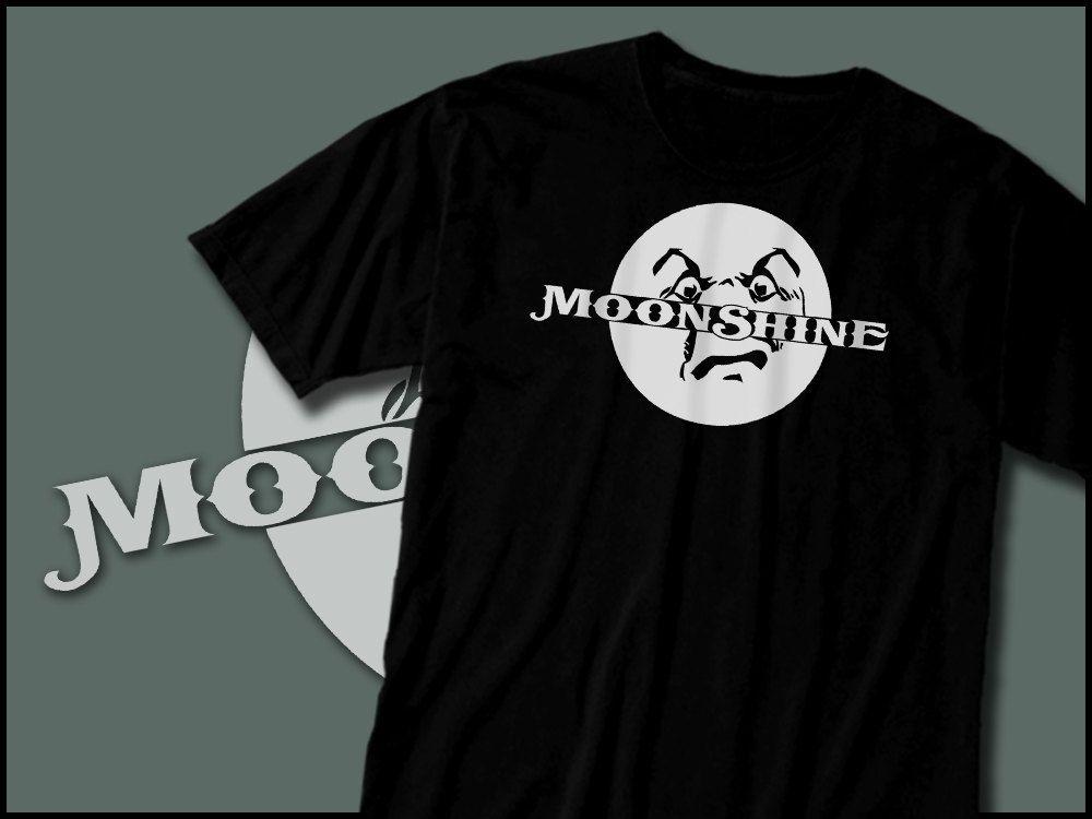 Moonshiner Shirt, White Lightning Tshirt, Bootlegger, Hooch, Home Made Liquor by skarekrowgraphics on Etsy