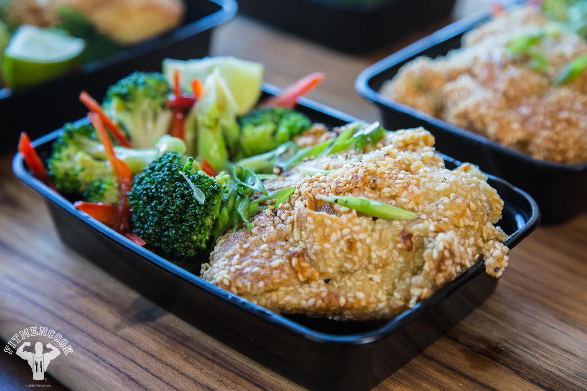 Extra Crispy Sesame Chicken Thighs 4 Keto Meal Plan Meal Planning Chicken Meal Prep