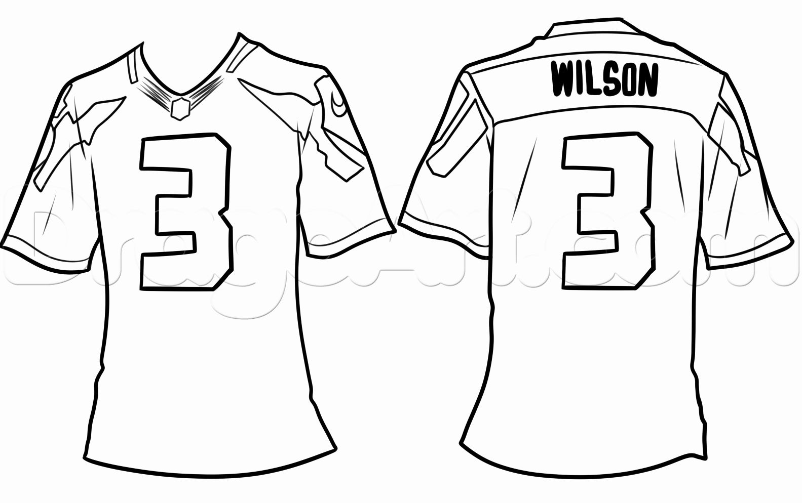 Football Jersey Coloring Page Luxury Blank Football Jersey Coloring Page Coloring Home Football Jerseys Jersey Football