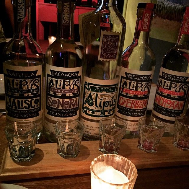 If you wanna do an unbelievably cool mezcal tasting in DF, go to Alipus!