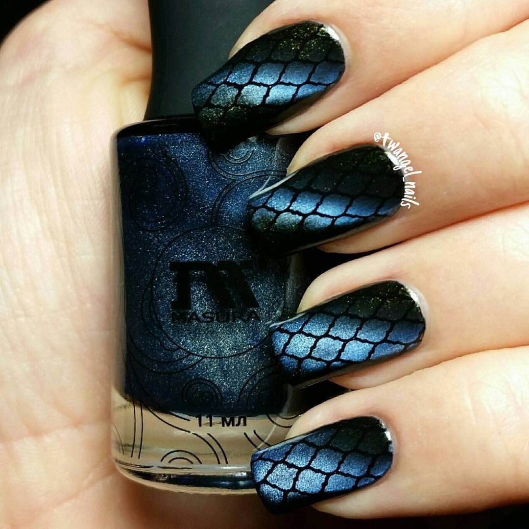 Can\'t get enough of @masura.ru\'s magnetic nail polish! ☺ This is ...
