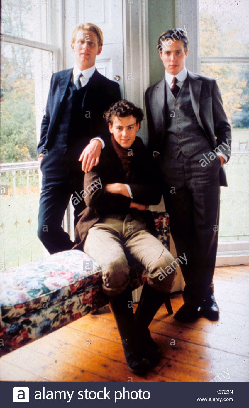 Maurice James Wilby Rupert Graves And Hugh Grant Picture From The Ronald Grant Archive A Merchant Ivory Production Rupert Graves James Wilby The Artist Movie
