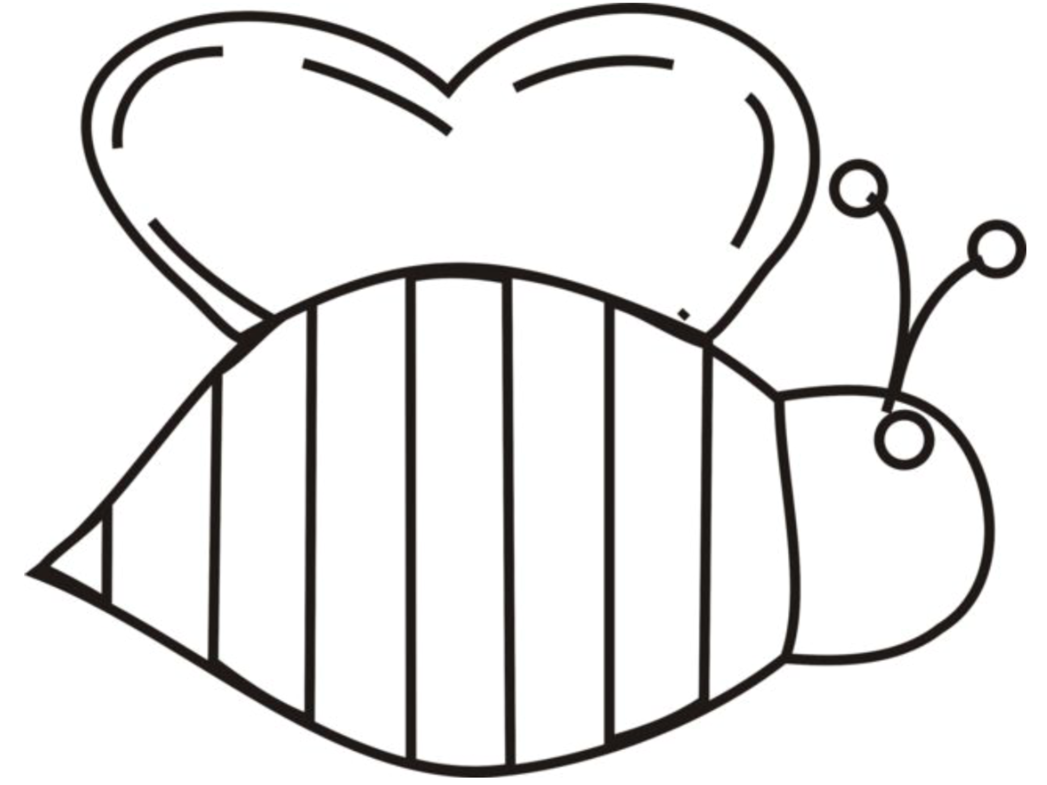 Pin By Meagan Spiegel On Aaaa Student Helper Boards Bee Coloring Pages Bee Template Bee Outline