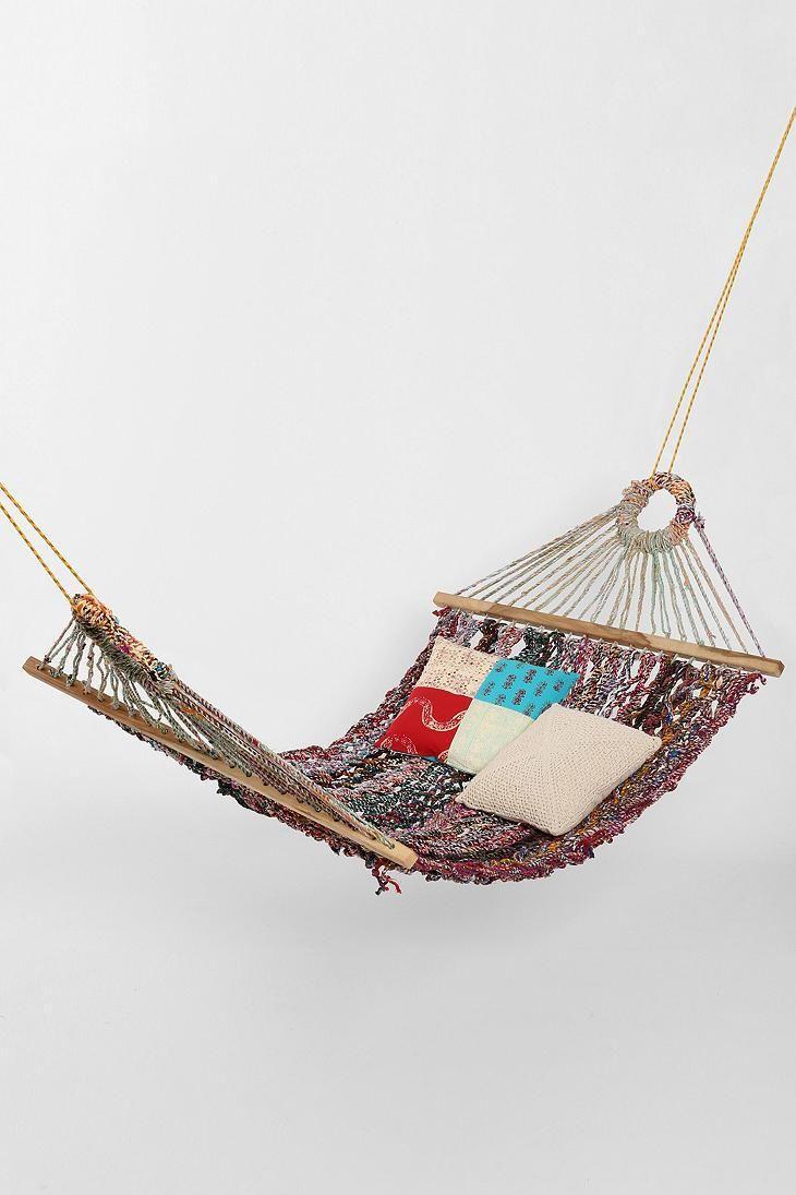 Magical thinking large woven hammock dream room pinterest
