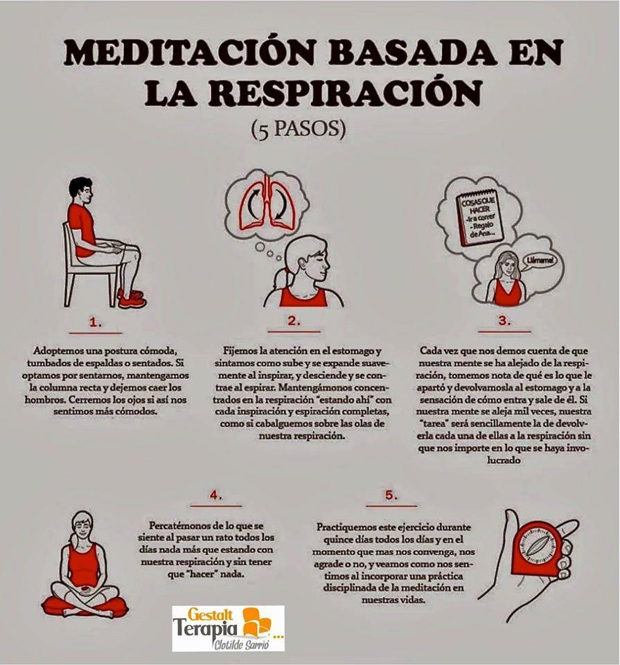 Aprende a meditar en 5 pasos