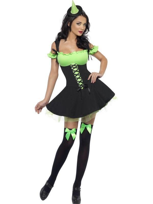 fever wicked witch purple httpbryonytheatricalcoukfever wicked witch purple 25817 pasp bryony theatrical womens halloween costumes pinterest - Green Halloween Dress