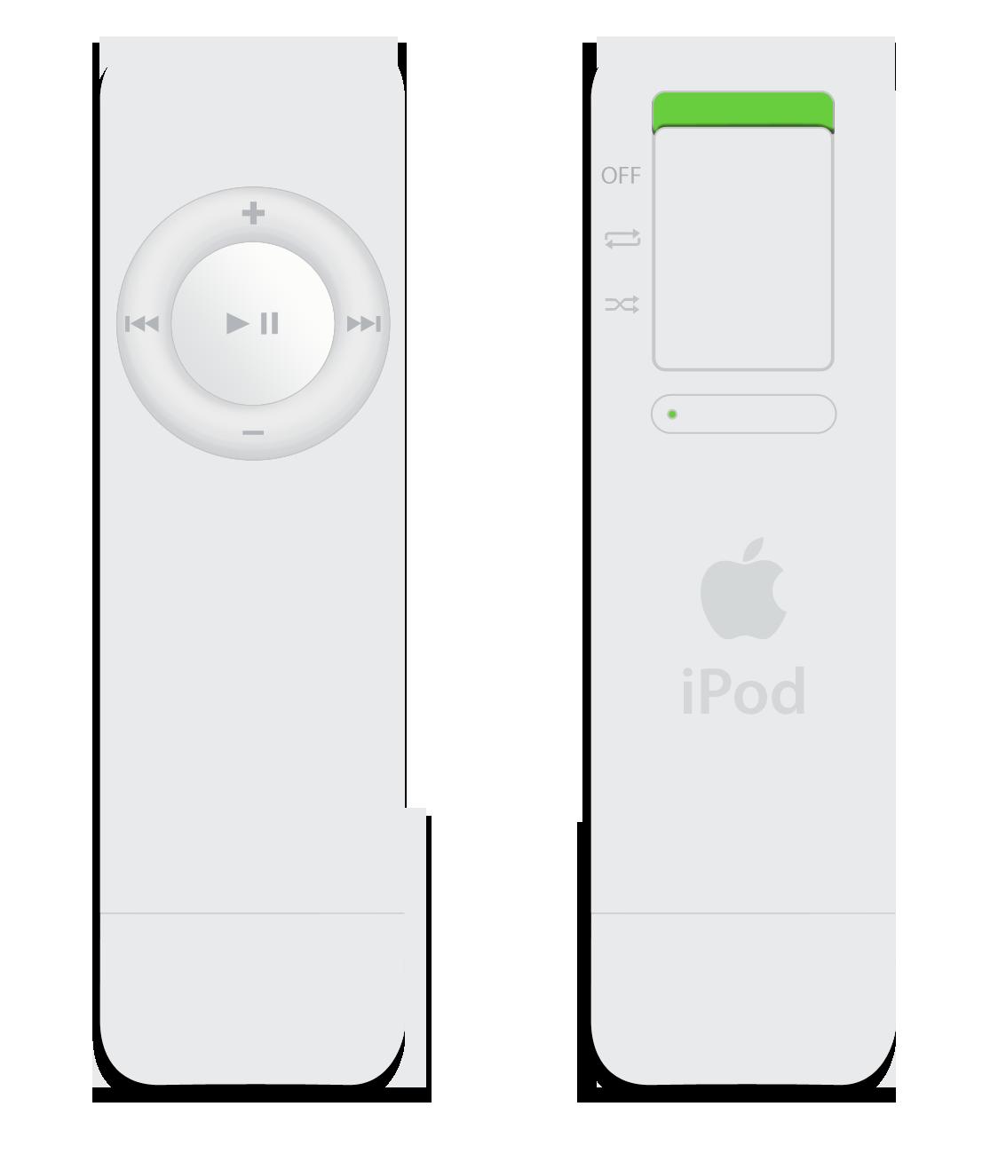 Apple iPod Shuffle. 1st Generation. 2005.