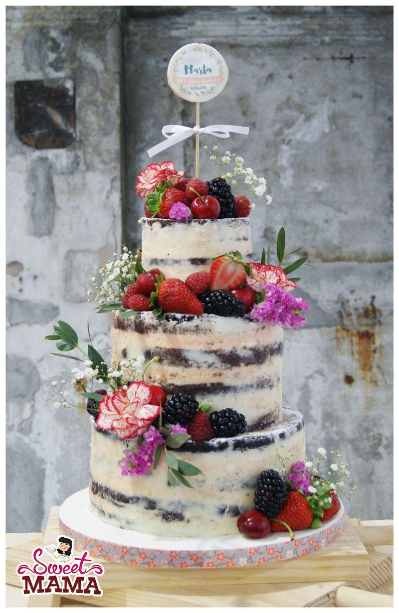 Naked cakes pasteles de boda a la última
