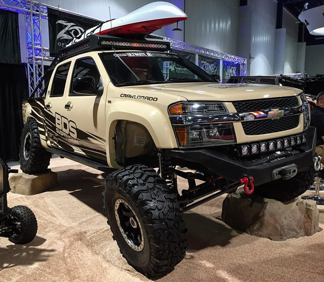 great seeing the chevrolet colorado getting so much love at sema this year good work bds. Black Bedroom Furniture Sets. Home Design Ideas