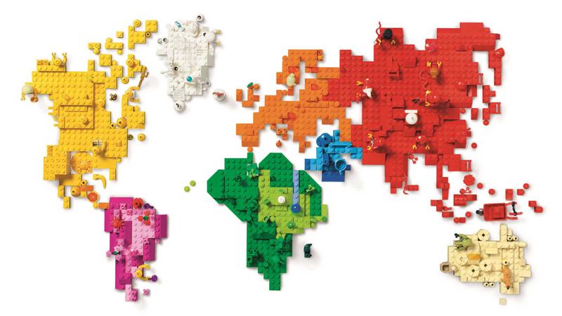 Cartina Mondo Lego.Storia Della Lego Anno Per Anno Muro Di Lego Decorazioni Con I Lego Stanza Lego