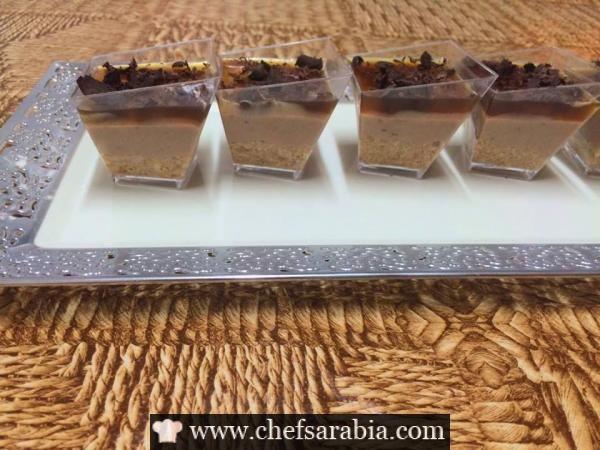 حلى تشيز كيك الشوكولاتة Food Desserts Pudding
