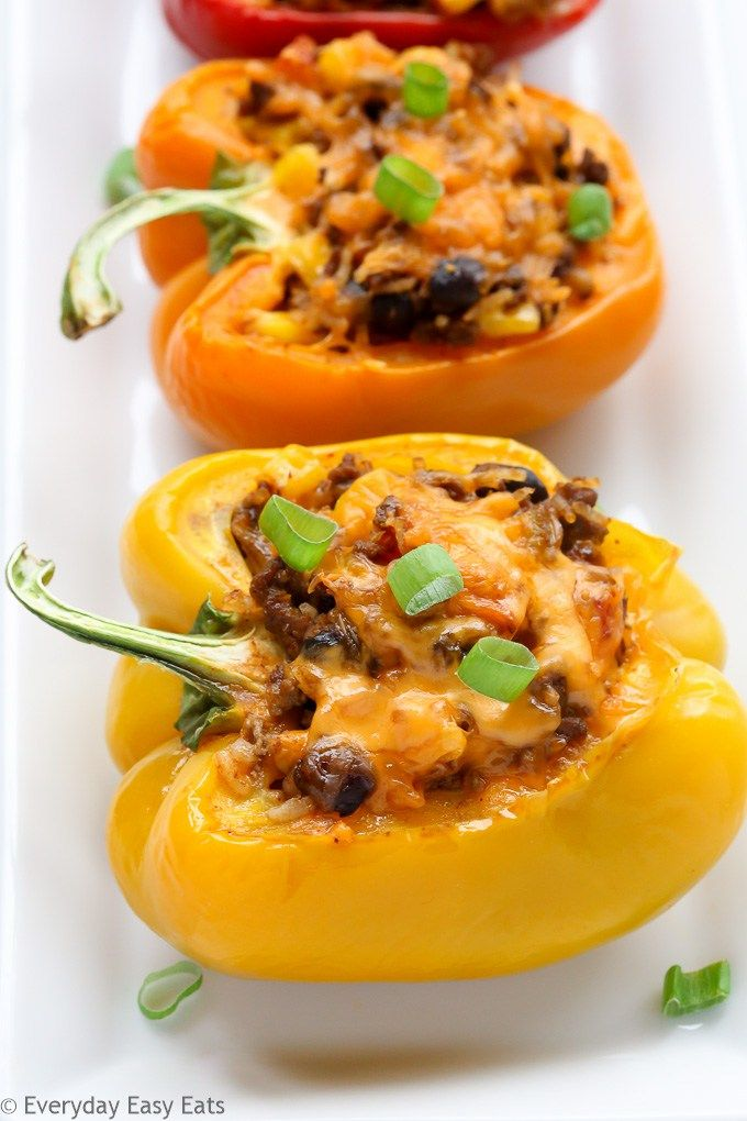 This Mexican Stuffed Peppers recipe is so zesty and full of flavor. A comforting…