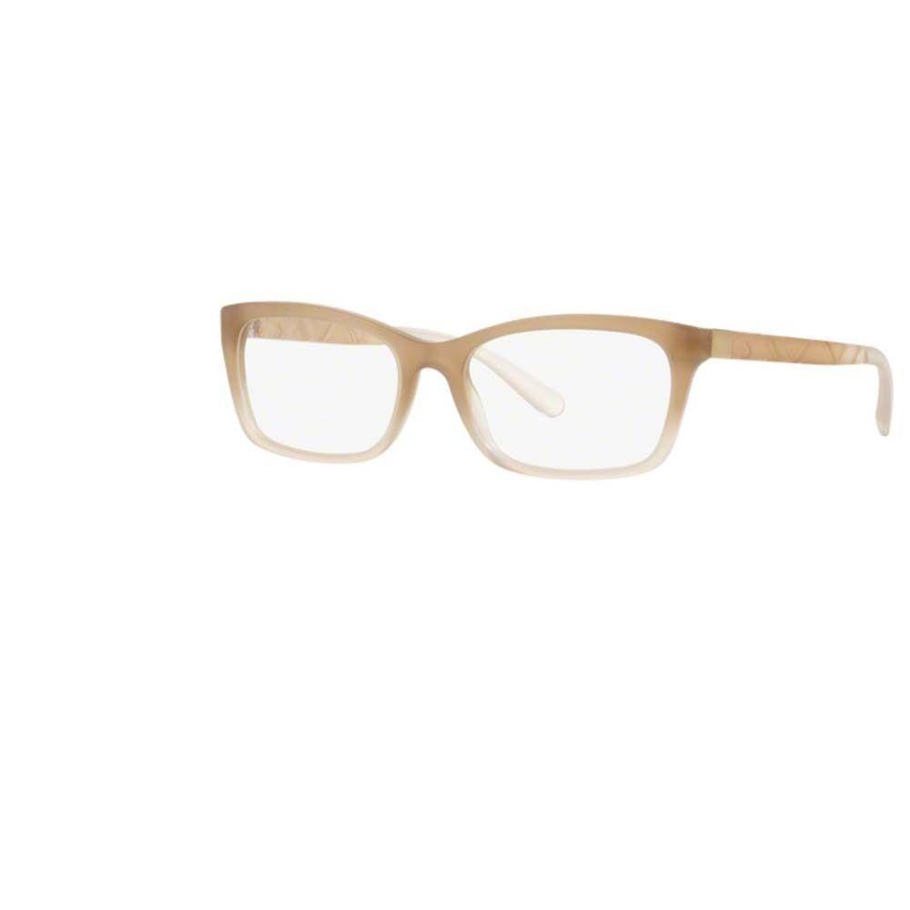 Burberry BE2220F 3574F Matte Gradient Rectangle Eyeglasses w/ 54mm ...