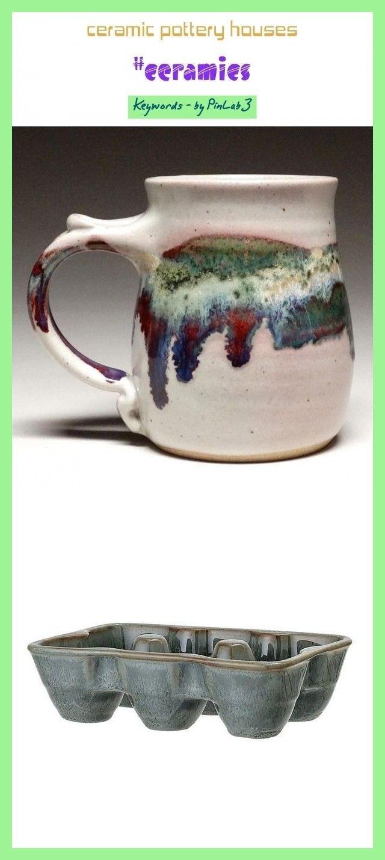 Ceramic Pottery Houses Ceramic Pottery Houses Keramische Topferhauser Ma Ceramic Houses In 2020 Ceramics Pottery Mugs Pottery Houses Ceramics Pottery Vase