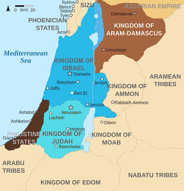 map of edom and judah choice image