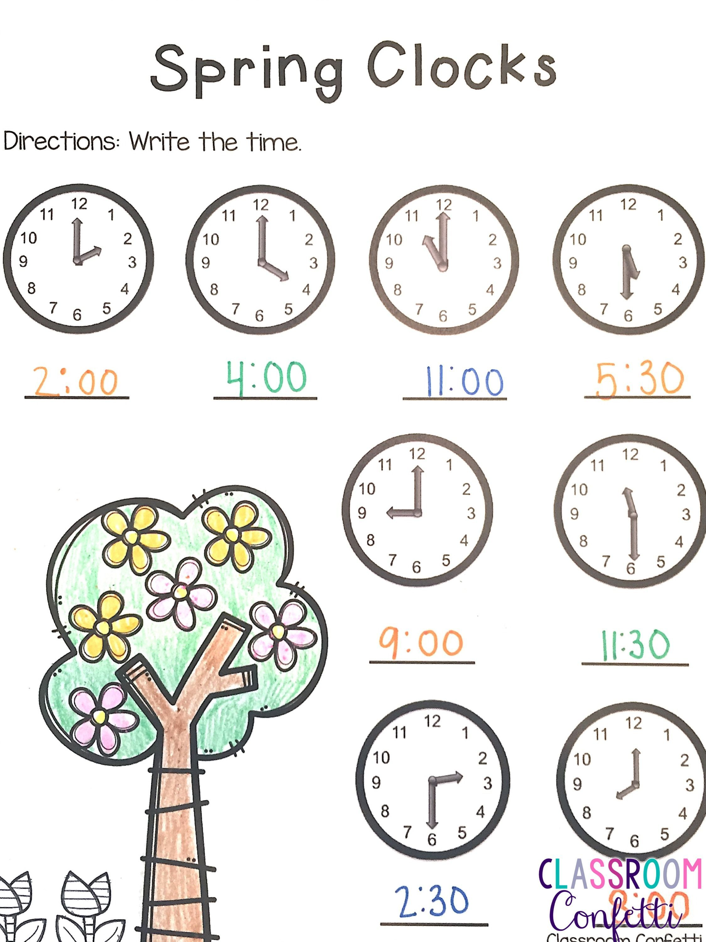 Free Distance Learning Stay At Home Spring Printables