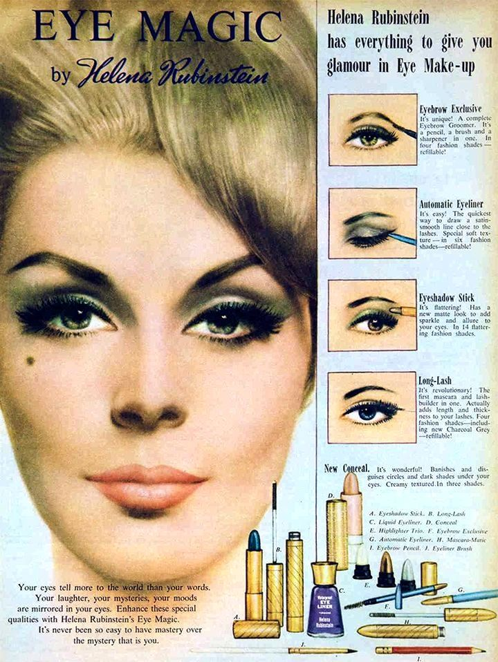 Helena Rubinstein 'Eye Magic' Cosmetics Ad   Helena