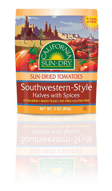 Southwestern Style Sun-Dried Tomatoes | Halves with Spices