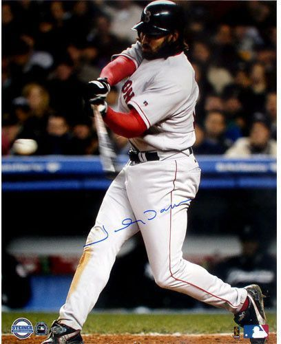 Johnny Damon 2004 ALCS Game 7 2nd HR 16x20 Photograph