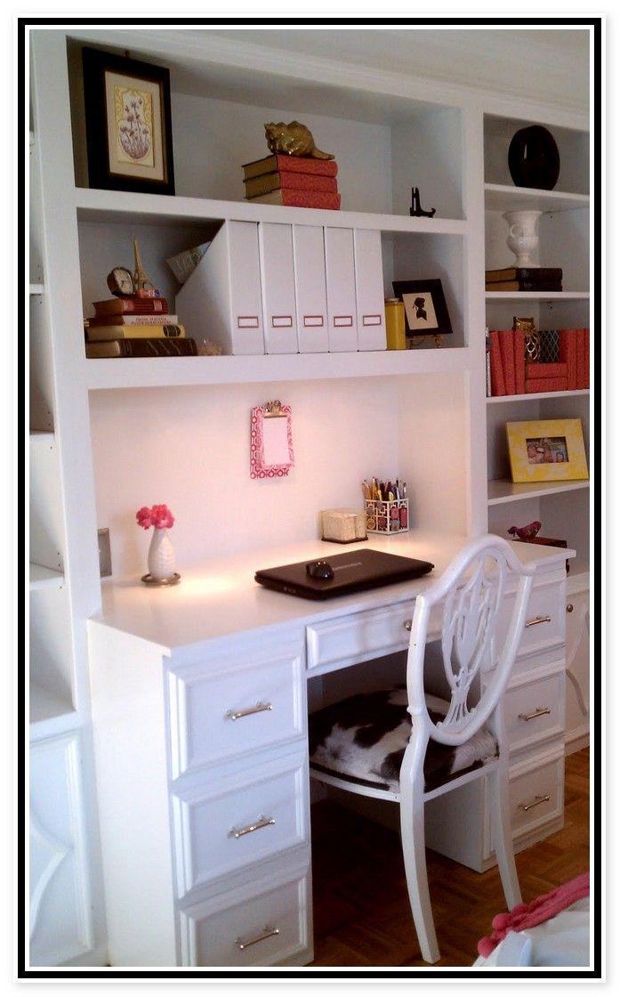 Bookcase Desk Combo Plans Furniture Home Design Ideas