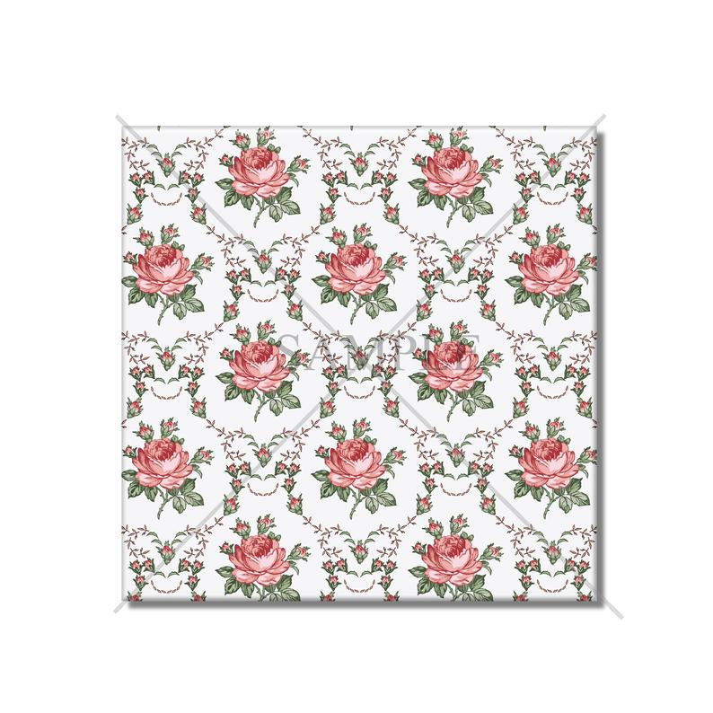 Decorative Ceramic Tile Shabby Chic Floral Ceramic Tile Backsplash Kitchen And Bathroom Ceramic Tiles Can Be Made In 4.25 And 6 Sizes