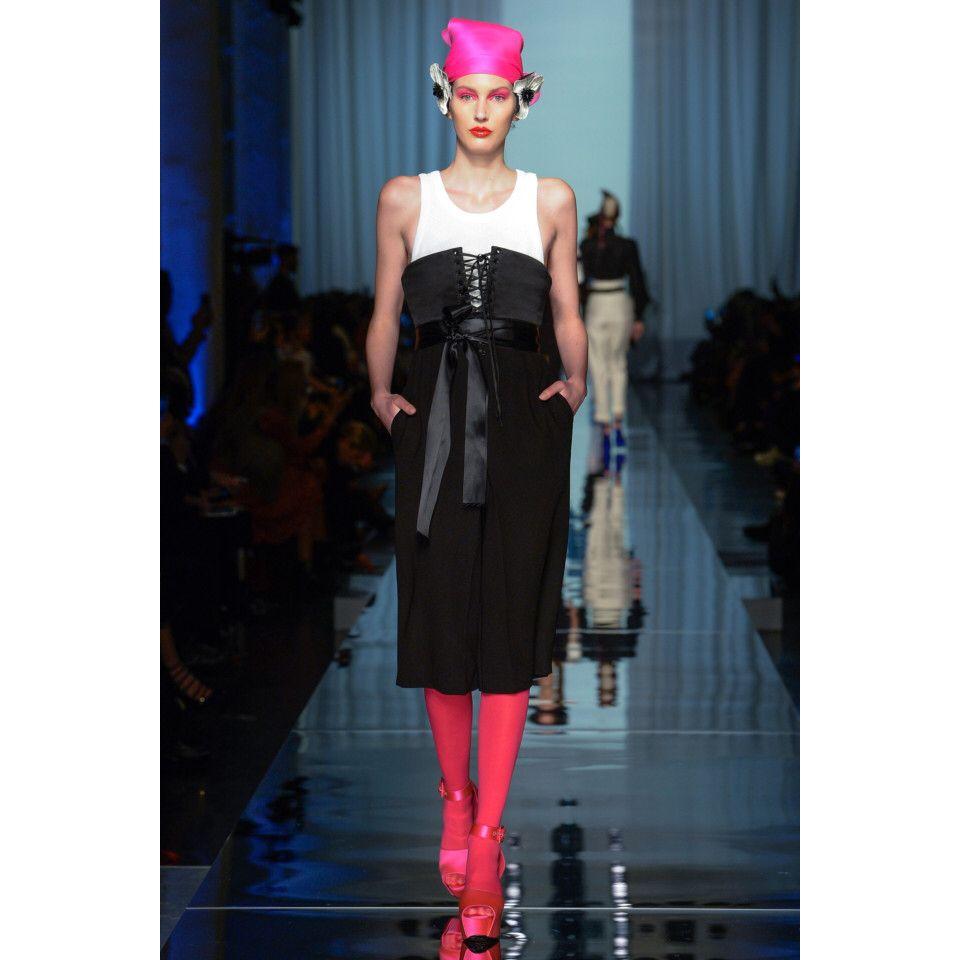 Jean Paul Gaultier  #VogueRussia #couture #springsummer2017 #JeanPaulGaultier #VogueCollections