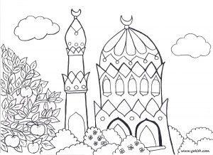 Malvorlage Moschee Kinder Im Islam Disney Prinzessin Malvorlagen Malvorlagen Fur Kinder Ausmalbilder