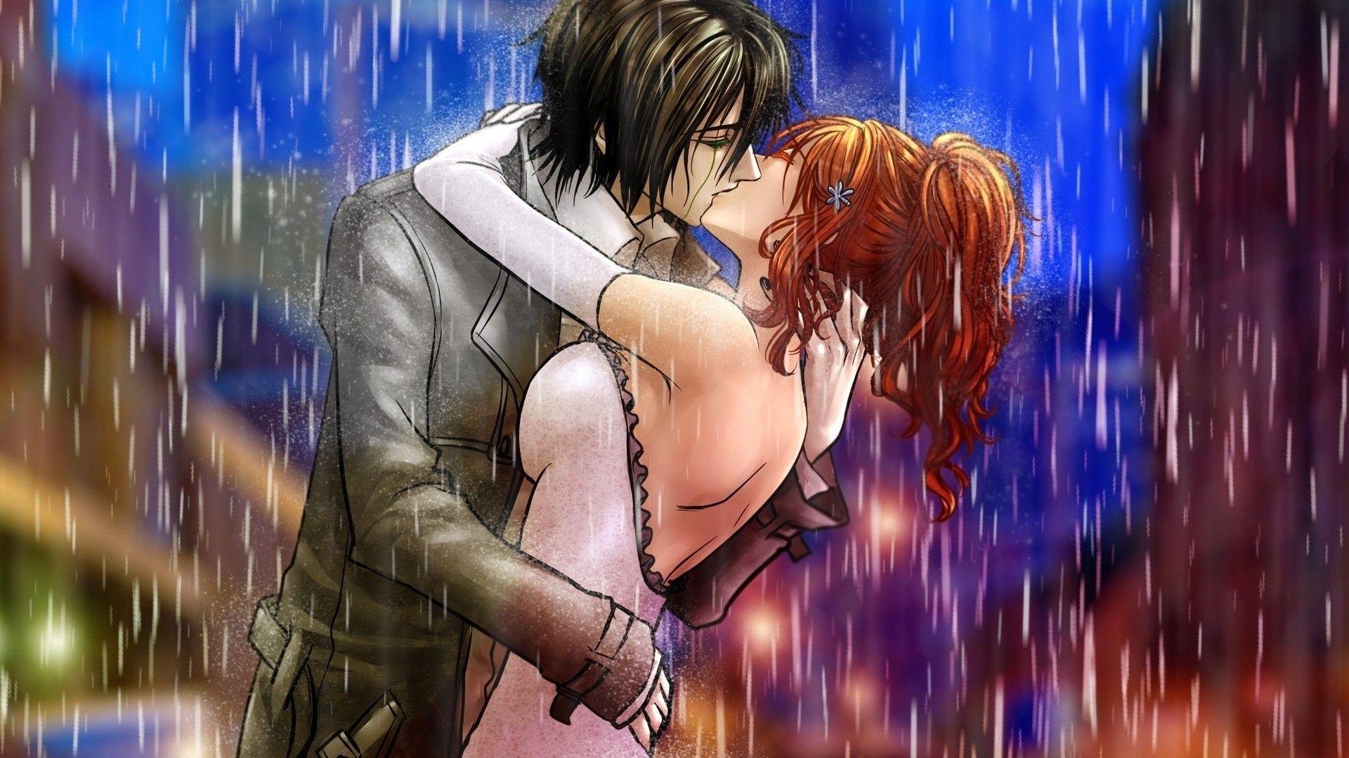 Love Anime Couple Kiss Anime Couple Kiss Anime Anime Kiss