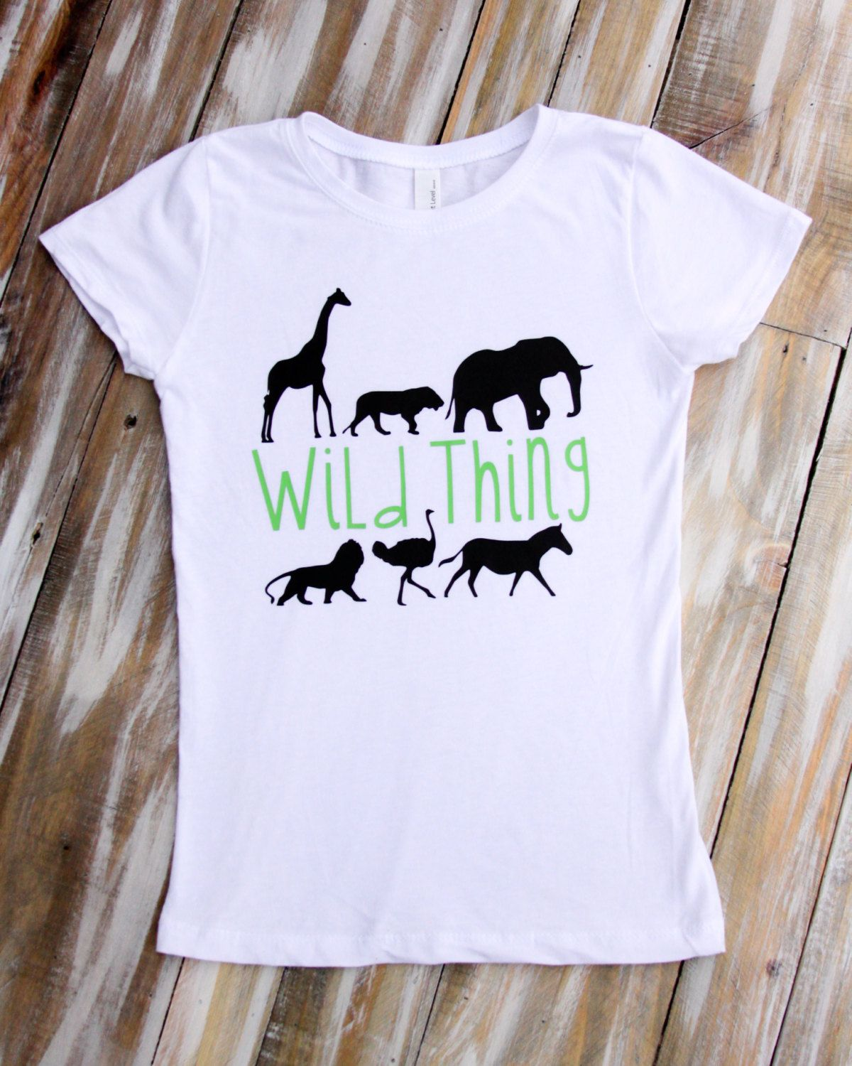 Childrens Short-Sleeved T-Shirts Creative Animal 3D for Boys and Girls
