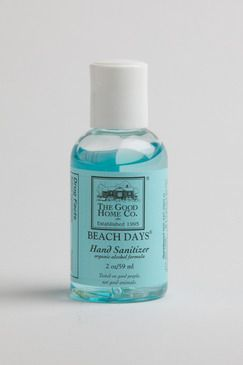 Beach Hand Sanitizer In Convenient Travel Size It Kills 99 99 Of